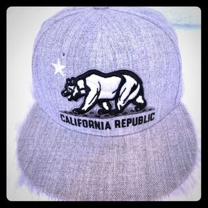California Republic Flatbill Hat